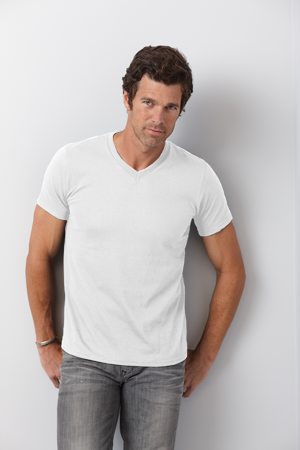 Gildan Adult 4.5 Ounce Softstyle® V-Neck T-Shirt