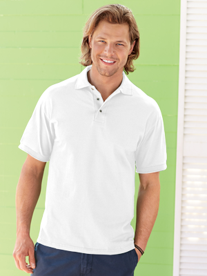 Jerzees® Adult 6.0 Ounce Heavyweight Cotton HD™100% Jersey Polo