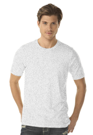 Next Level Men's 3.5 Ounce Poly/Cotton Crewneck T-Shirt