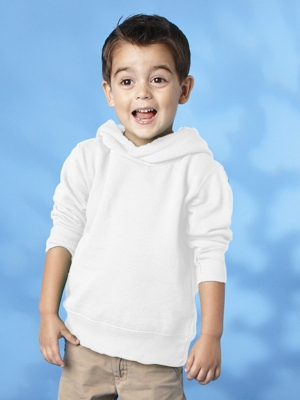 Rabbit Skins Toddler 7.5 Ounce Pullover Fleece Hoodie
