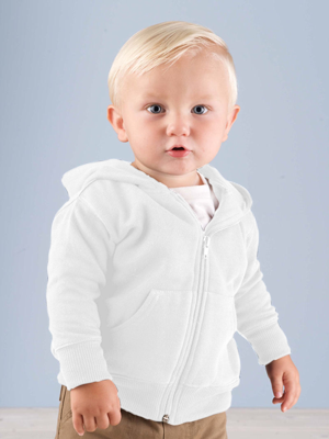 Rabbit Skins Infant 7.5 Ounce Zip Fleece Hoodie