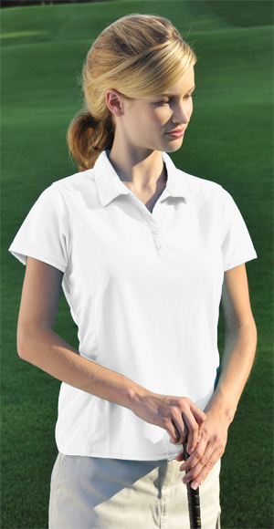 Willowtec Ladies 5.4 Ounce 100% Polyester Willowtec Fashion Cool Mesh Golf Shirt